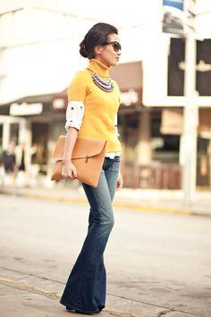 Little Bows    Silk blouse   Stone necklace c2cbe798b1b4