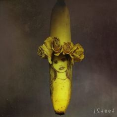 Artist Stephan Brusche Uses Bananas As His Canvas To Create Unique Art