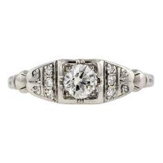 5.80//ct Lab diamond White Sapphire Engagement Ring Black Rhodium Plated Size 7