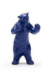 """blue bear figure Denver Art Museum gift shop, 8"""", $19.99"""