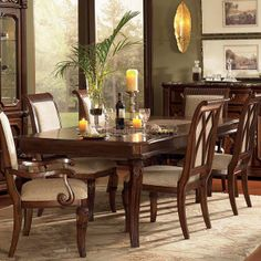 Discover unique dining room furniture options at Hickory Furniture Mart. Enjoy a wide variety of dining room sets, tables, chairs & dining room hutches. Dining Table Legs, Dining Decor, Dining Room Sets, Dining Room Design, Dining Room Furniture, Furniture Design, Hickory Furniture, City Furniture, Hudson Furniture