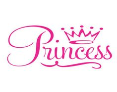 princess crown decal svg dxf file instant download silhouette cameo cricut clip art