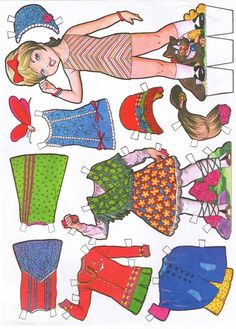 muñecas recortables - Carmen m. p, - Álbumes web de Picasa