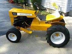 Vintage Sears Craftsman Riding Mower Is A Lawn Garden