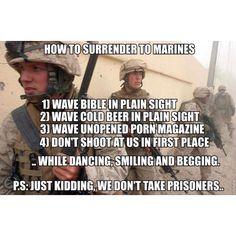 haha usmc:) Military Quotes, Military Humor, Military Life, Marine Quotes, Military Army, Usmc Quotes, Military Style, Royal Marines, Us Marines