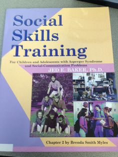 Social Skills Training for Children and Adolescents with Asperger Syndrome and Social-communication Problems by Jed E. Social Skills Autism, Social Skills Lessons, Social Skills Activities, Respect Activities, Speech Activities, Coping Skills, Life Skills, Teaching Respect, Autism Books