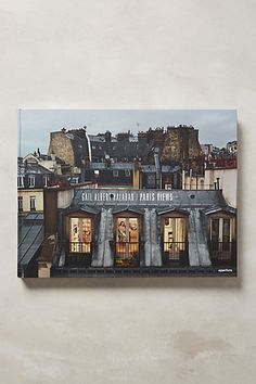 Coffee table book- Gail Albert Halaban: Paris Views #anthropologie