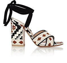 d431c3c852d4 We Adore  The Cheyenne Ankle-Tie Sandals from Gianvito Rossi at Barneys New  York