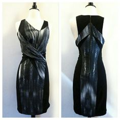 "Helmut Lang Dress Size 6. Lined. Perfect condition but too small for me. Armpit to armpit flat across is 17"" and waist is 15"" flat across. Helmut Lang Dresses"