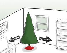 How to Cat Proof Your Christmas Tree: 10 steps - This article is obviously about christmas trees but there are useful tips that can be used to keep your cats from destroying indoor trees and plants year round.