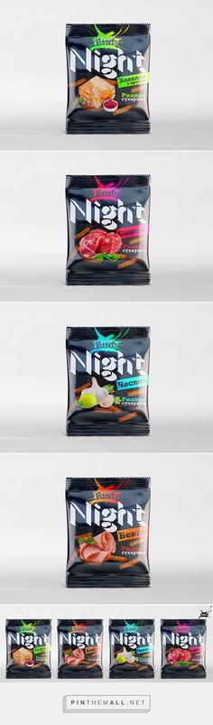 Flint Night snacks by Dima Rykov. Pin curated by Organic Packaging, Black Packaging, Dessert Packaging, Food Packaging, Simple Packaging, Meat For A Crowd, Limited Edition Packaging, Restaurant Branding, Packaging