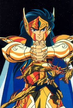 Download Saint Seiya: Verseau & Cancer (1500x2233) - Minitokyo