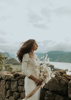 Looking for ways to elevate your outdoor venue? Check out this light and airy monochromatic wedding for inspiration! Outdoor Venues, Outdoor Ceremony, Unique Weddings, Real Weddings, Bridal Portrait Poses, Ethereal Wedding, Most Beautiful Images, Bridal Pictures, Ceremony Backdrop