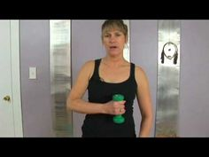 Pilates Free Weight Arm Exercises : Pilates Free Weight Exercise: On Guard
