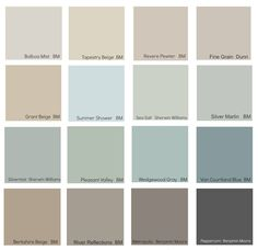 The New Neutrals (Benjamin Moore) ! Tips Ideas on the new neutral decorating colors for today!