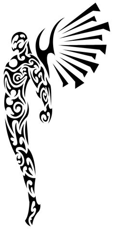 Tribal Angel by Shadow696.deviantart.com on @deviantART