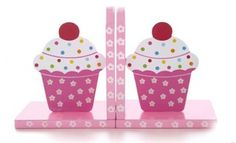 CUTE cupcake book ends