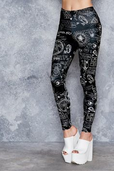 BlackMilk - Spellbound HWMF Leggings