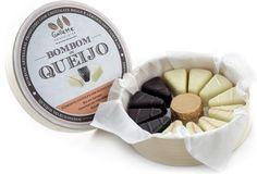Chocolates Finos, Chocolate Gourmet: Bombons de Queijo