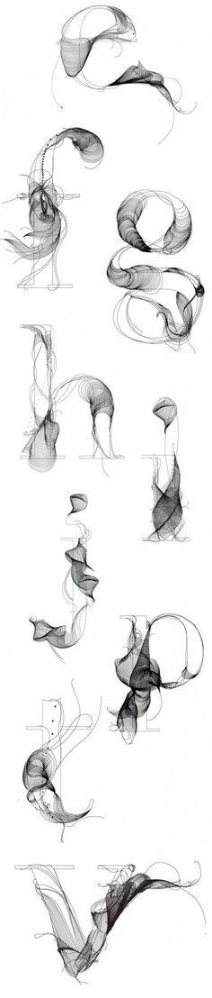 Typographie #10 : Un caractère créatif ! | BlogDuWebdesign
