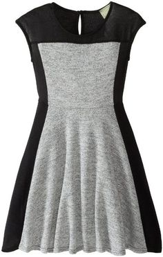 Amazon.com: Kiddo Girls 7-16 Color Blocked Dress: Clothing Women, Men and Kids Outfit Ideas on our website at 7ootd.com #ootd #7ootd