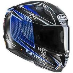 1ce491dd HJC RPHA 11 CARBONIO Jackson STORM CASCO MOTO SPORT - nero blu #helmet #hjc
