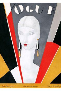 Art Déco, moda y publicidad: las portadas para Vogue de Eduardo García Benito