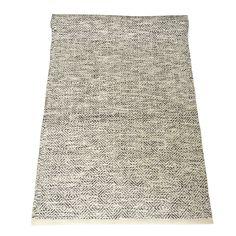 Edgar rug black-white