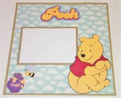 12x12 Premade Disney Scrapbook Pages - Winnie The Pooh