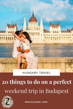 20 unmissable things to do in on a weekend trip in Budapest, Hungary | Are you planning a weekend trip to Budapest? Don't miss these 20 things to do in the capital of Hungary! Plan your trip according to this guide. | Best things to do in Budapest | Weekend getaway Budapest, Hungary | Unique things to do and see in Budapest | #budapest #hungary #visithungary #visitbudapest #hun #magyar #europe #travel #travelhungary #travelbudapest #thingstodo #travelblog European Travel Tips, Europe Travel Guide, Europe Destinations, Travel Abroad, Weekend Trips, Weekend Breaks, Buda Castle, Hungary Travel, Budapest Hungary