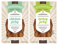 Fresh packaging design for Homegrown Dog Treats