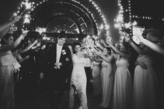 A Romantic Wedding at the Biltmore by Lime Green Photography - Wedding Party