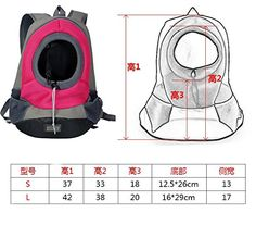 Pet Carrier Product Dogs Cats Backpack of Dog Bags of Cat Double Shoulder Backpacks for Pet Folding Protable Dog's Bags (Color Random) Size L *** Read more  at the image link. (This is an affiliate link and I receive a commission for the sales)