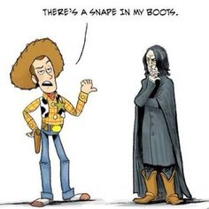 Harry Potter meets Toy Story and it is hilarious!