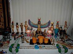 Egyptian Altar
