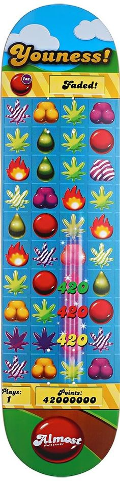 Almost Youness Candy Kush Deck