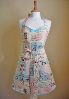 Hey, I found this really awesome Etsy listing at https://www.etsy.com/listing/220387224/retro-apron-1950s-style-apron-vintage