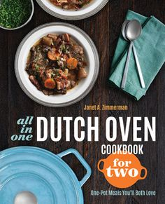 """Enter our giveaway, and you'll automatically be eligible to win a copy of All-in-One Dutch Oven Cookbook for Two by Janet A. Zimmerman. <strong><span style=""""color: #b32025;"""">You can enter one (1) time per e-mail address per day.</span></strong> Deadline 10.21.16."""