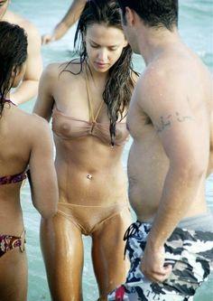 Paparazzi pics of nude girls