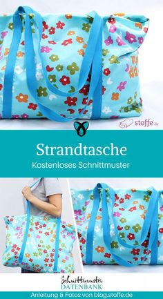 1 Strandtasche XXL Tasche Shopper nähen gratis Schnittmuster kostenlos Anleitung Idee Nähidee Geschenk Geschenkidee Freebie Freebook knitting to give you a better service we recommend you to browse the content on our site. Sewing Patterns Free, Free Sewing, Sewing Tutorials, Free Pattern, Knitting Patterns, Sewing Projects, Sewing Hacks, Poncho Crochet, Large Beach Bags