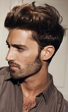 photo coupe de cheveux homme printemps