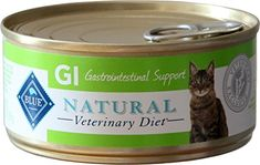 BLUE Natural Veterinary Diet GI Gastrointestinal Support For Cats 5.5Oz Can, Pack of 24 ** Visit the image link more details.