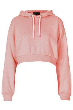 Topshop, Crop Pull On Hoody, Crop Top Hoodie, Crop Top Sweater, Crop Shirt, Sweater Jacket, Crop Top Jacket, Sweat Shirt, Bauchfreier Pullover, Cropped Pullover, Urban Apparel