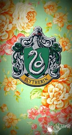 Slytherin iPhone wallpaper
