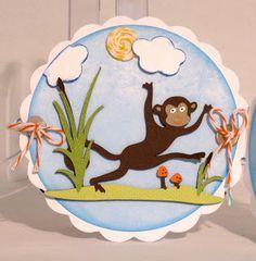 Cricut Nate's ABCs: monkey