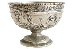 Silverplate Ram Compote on OneKingsLane.com