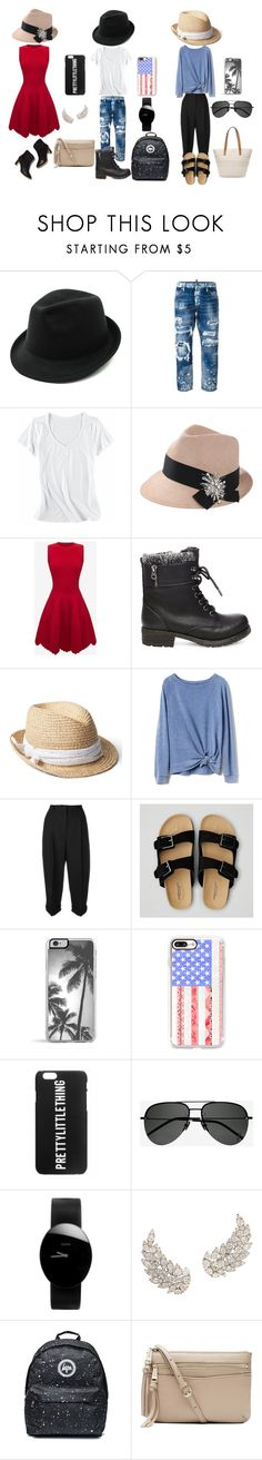 """Fedora Fanatic"" by abbyarctic ❤ liked on Polyvore featuring Dsquared2, Horny Toad, Brunello Cucinelli, Alexander McQueen, Steve Madden, Gap, Dolce&Gabbana, American Eagle Outfitters, Casetify and Yves Saint Laurent"