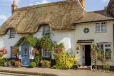 Cottages at Haxton in Wiltshire