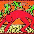 Je découvre cette oeuvre de Keith Haring avec admiration, mais j'admire encore plus le parti qu'a su en tirer Marie en classe avec ses...