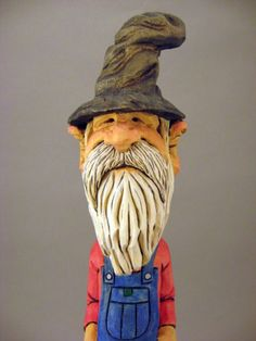 Hand Carved Hillbilly Caricature by CarvingsbyTony on Etsy, $65.00